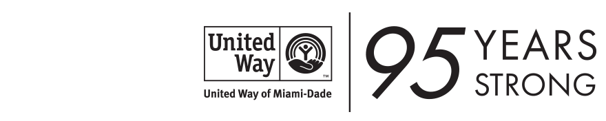 Logo for United Way of Miami-Dade, 95 years strong!