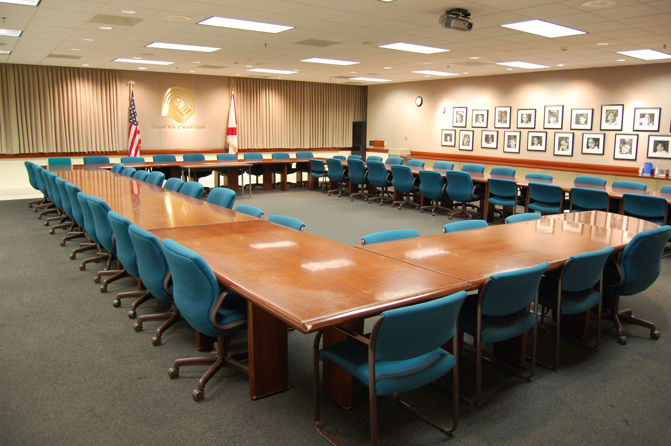 Reserve A Conference Room United Way Of MiamiDade - Conference table miami
