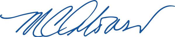 Maria C. Alonso's signature