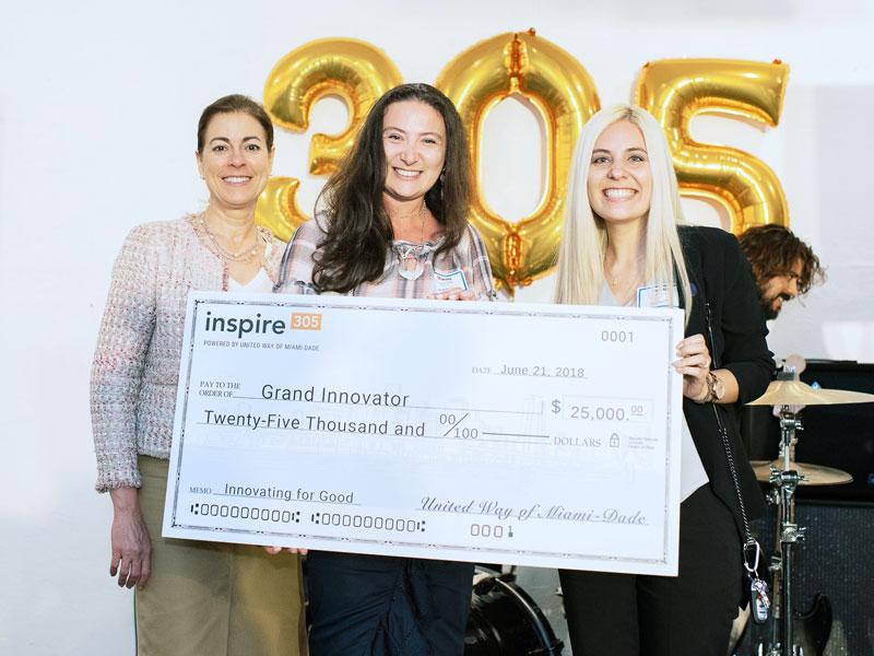 (Code/Art name and link) $25,000 Grand Innovator Award winner
