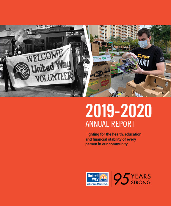 2019-2020 Annual Report. Fighting for the health, education and financial stability of every person in our community.
